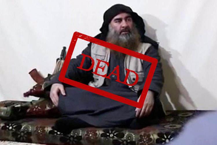 کشته شدن ابوبکر بغدادی