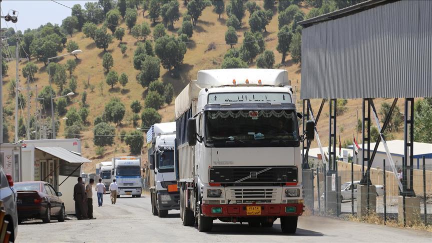 ۱۱۴ هزار تن کالای استاندارد از مهران به عراق صادر شد