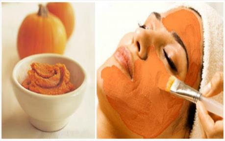 درخشان کردن پوست با ماسک کدو حلوایی