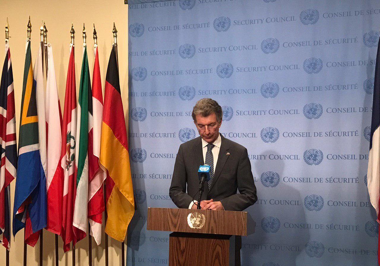 کریستف هاسگن، نماینده آلمان در سازمان ملل