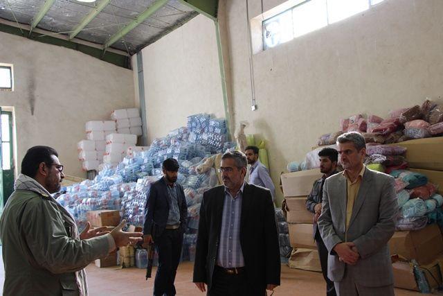 بازدید دادستان نظامی سیستان و بلوچستان از نحوه امدادرسانی به سیل زدگان جنوب شرق کشور