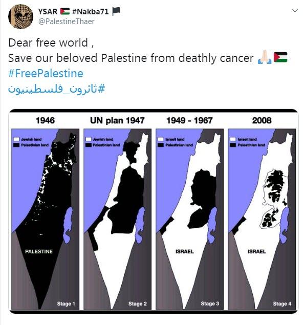 هشتگ «فلسطین آزاد» ترند جهانی شد