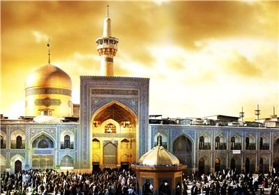 تشرف ۲۰ زائر و گردشگر به دین مبین اسلام در حرم  مطهر رضوی