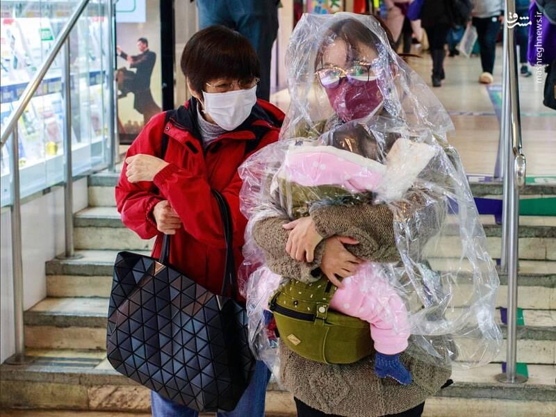 ابتکار جدید چینیها برای در امان ماندن از ویروس کرونا