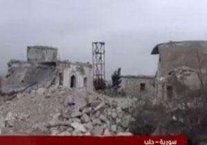 تصاویری از تونلهای تروریستها در داخل خان طومان