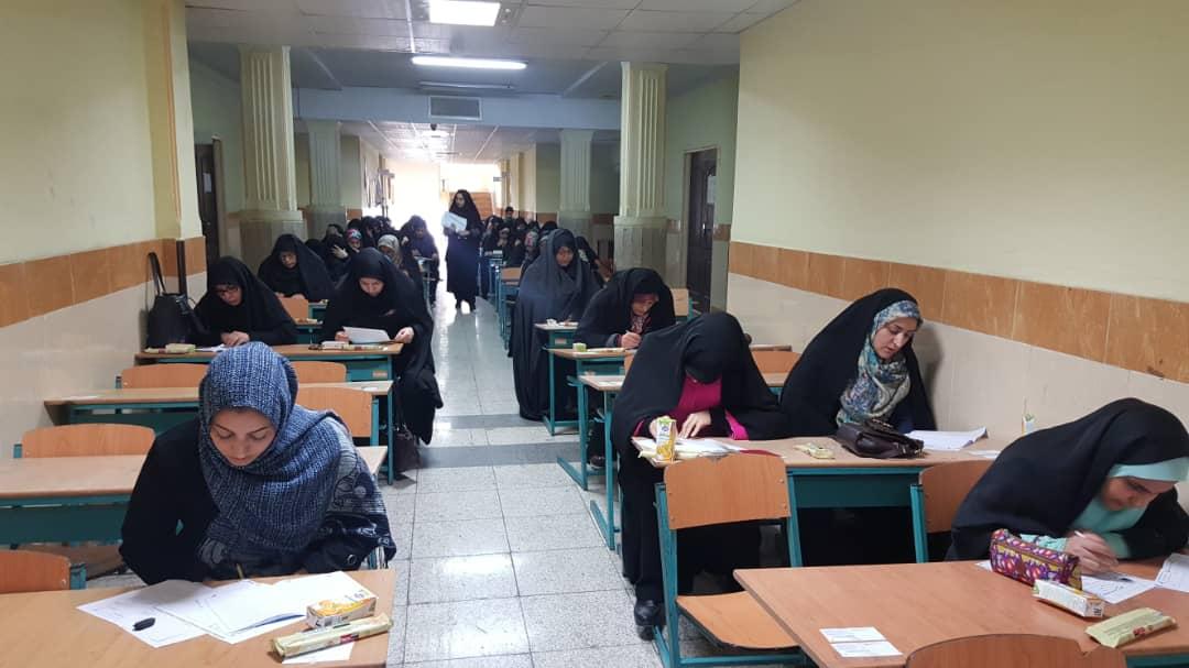 برگزاری آزمون قرآن و عترت در نظرآباد