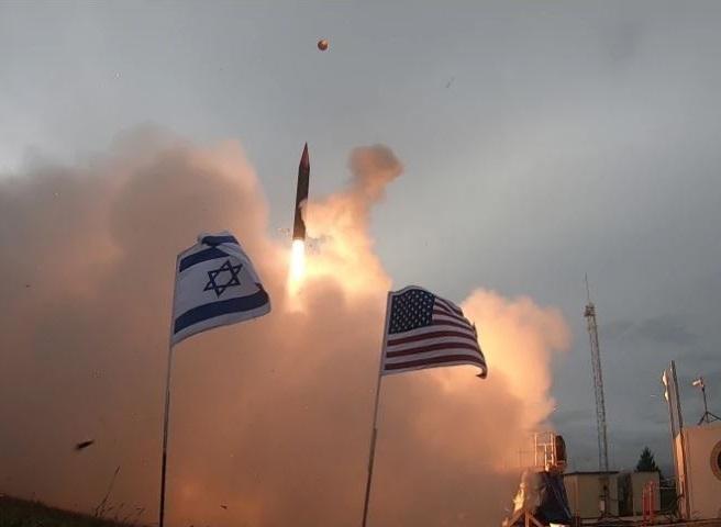 آزمایش موشکی رژیم صهیونیستی