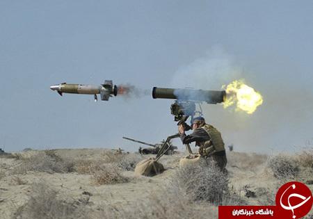 موشک ضدزره صاعقه؛ عامل غافلگیری دشمنان در میدانهای نبرد + تصاویر