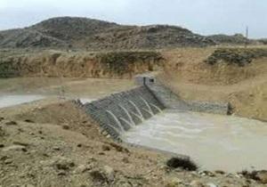 آبگیری بند خاکی مشوکی سربیشه
