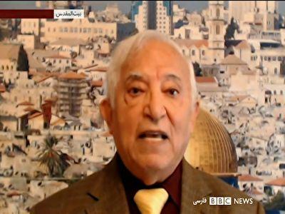 کارشناس صهیونیستی بی بی سی: تُف بیاندازید اسرائیل نابود میشود! + فیلم