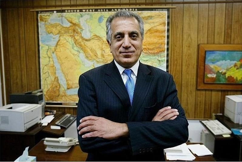 زلمی خلیلزاد به کابل سفر کرد