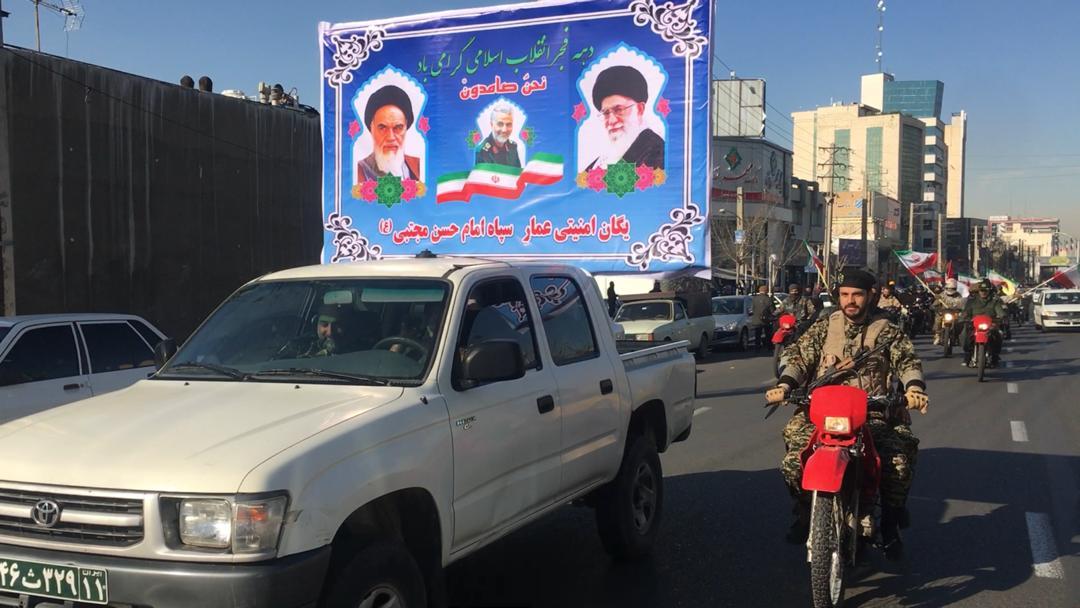 آغاز رژه موتور سواران در البرز