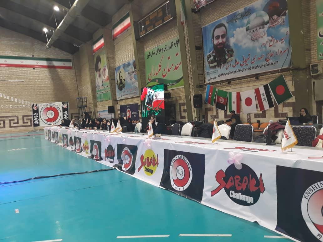 پایان رقابتهای مسابقات بین المللی انشین کاراته بانوان/ بانوان ایرانی قهرمان این رقابتها