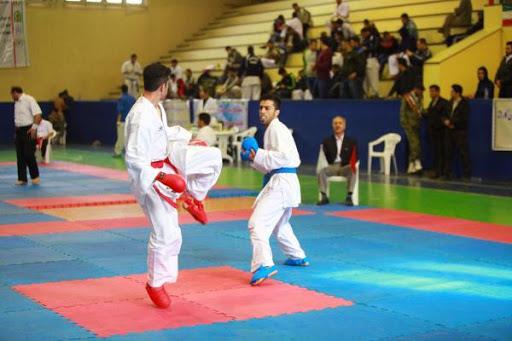 برگزاری بیست و هشتمین دوره مسابقات کاراته قهرمانی نیروهای مسلح به میزبانی نیروی پدافند هوایی ارتش