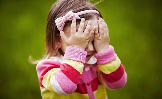 خجالت کودکان