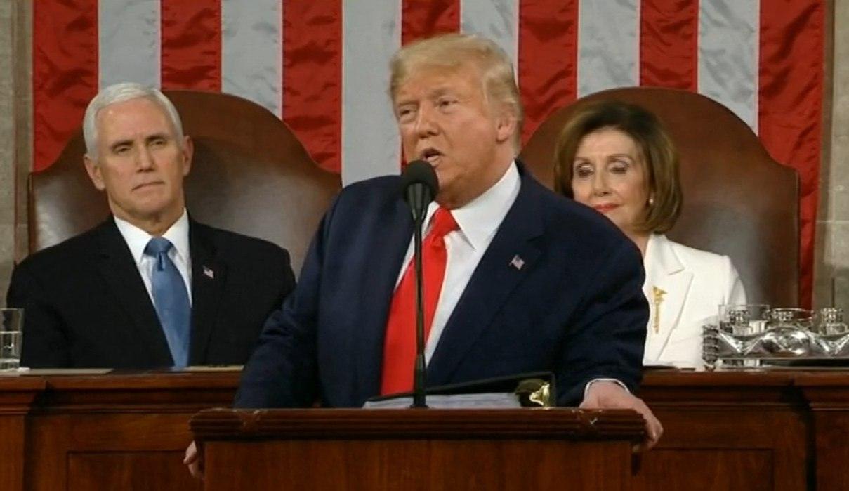 سخنرانی سالیانه ترامپ در کنگره آمریکا