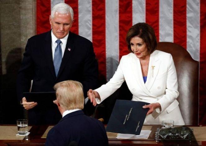 حواشی سخنرانی سالیانه ترامپ در کنگره