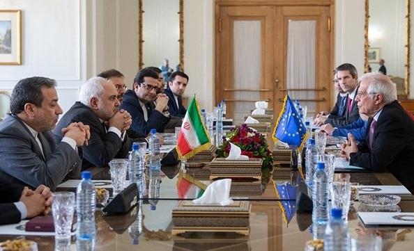 ////اتحادیه اروپا، نمایشگاه بدعهدی علیه ایران