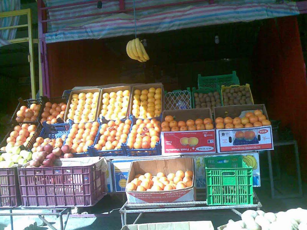 پاینده/ سد معبر میوه فروشان خیابان خانی آباد