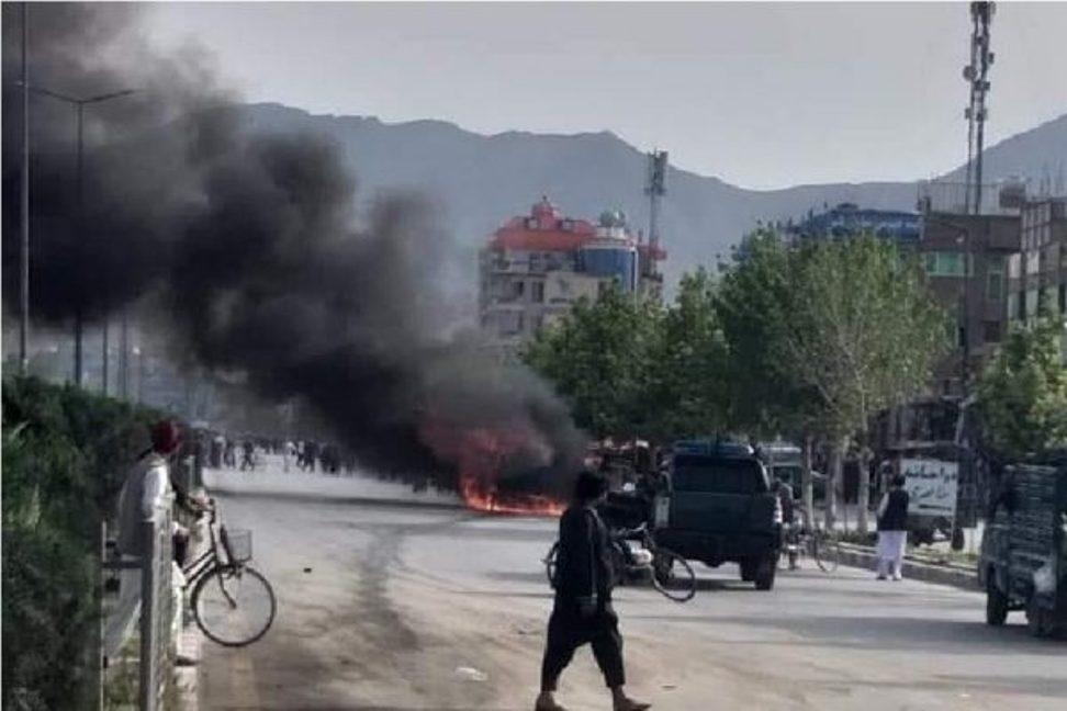 انفجار خودرو در افغانستان