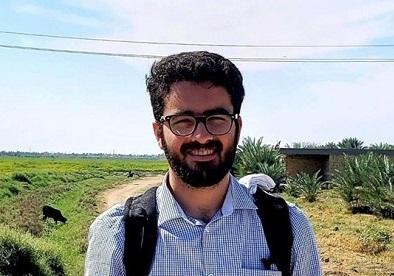 محمد شهاب دهقانی حسینی، دانشجوی ایرانی