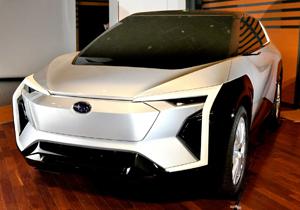 رونمایی از طرح مفهومی جدیدترین خودرو تمام الکترونیکی سوبارو