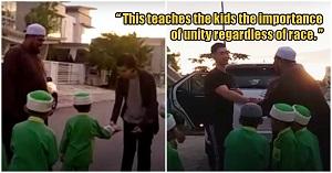 درس زیبای معلمان مسلمان مالزیایی به کودکان پیش دبستانی!///