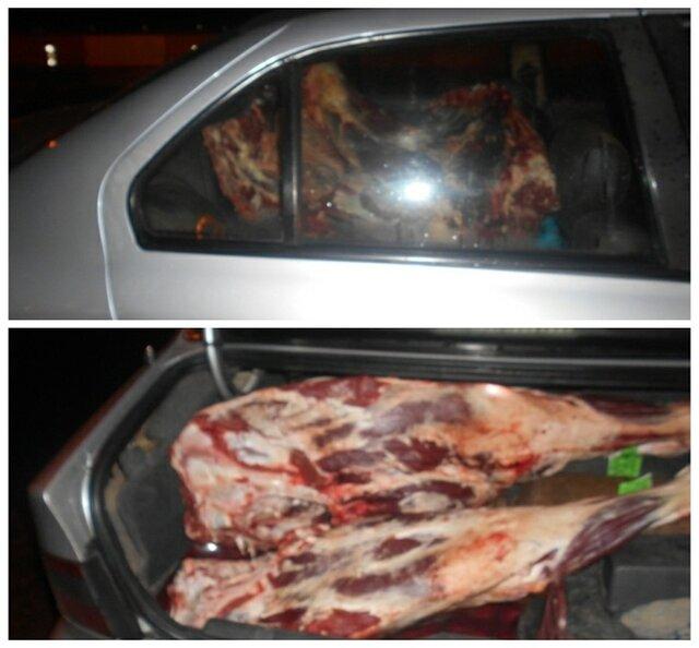 کشف ۴۰۰ کیلو گوشت غیربهداشتی در رودسر