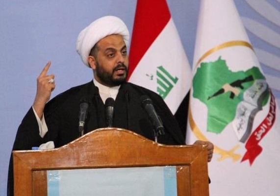 شیخ قیس الخزعلی، دبیرکل جنبش عصائب اهل الحق عراق