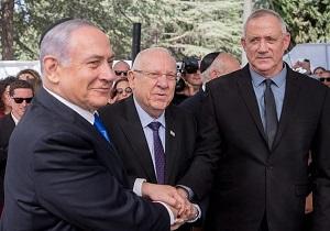 بنی گانتس، نتانیاهو را تهدید کرد