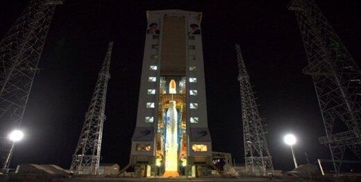 ماهواره ظفر پرتاب شد