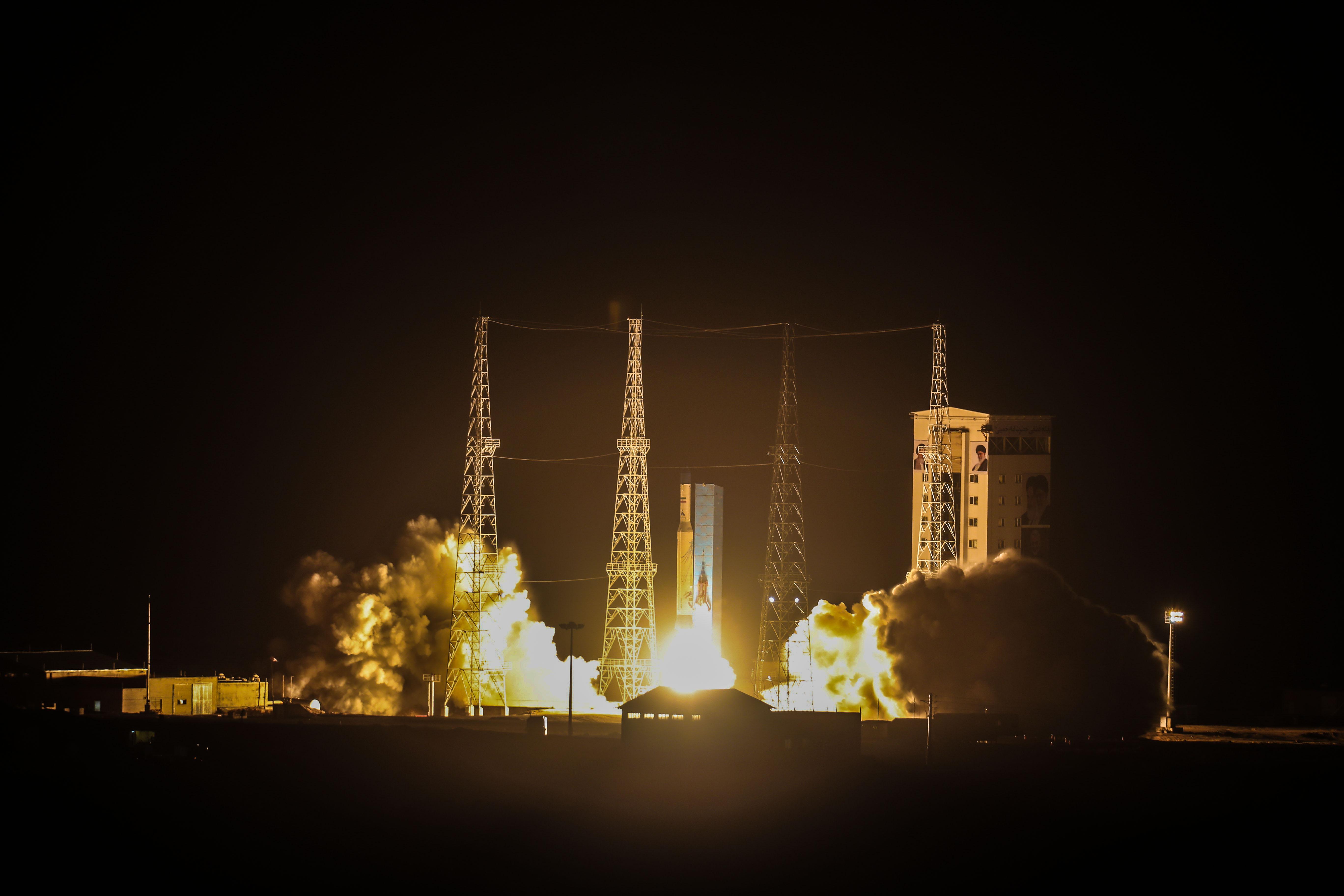 پرتاب ماهواره ایرانی ظفر