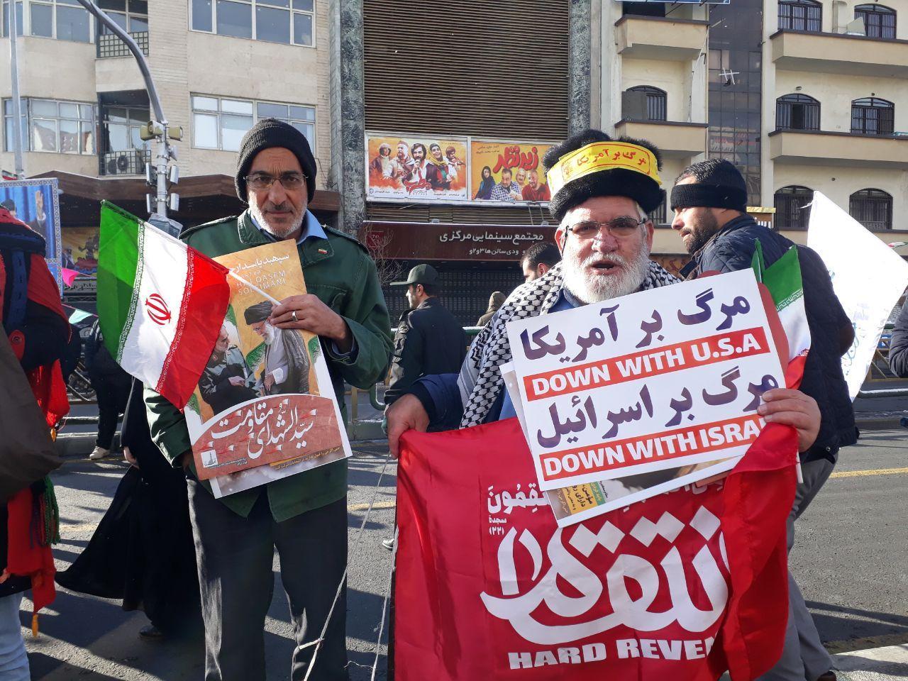 حاشیههای باشگاه خبرنگاران جوان از راهپیمایی ۲۲ بهمن ۹۸