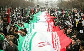 حضور چهره ها در راهپیمایی 22 بهمن