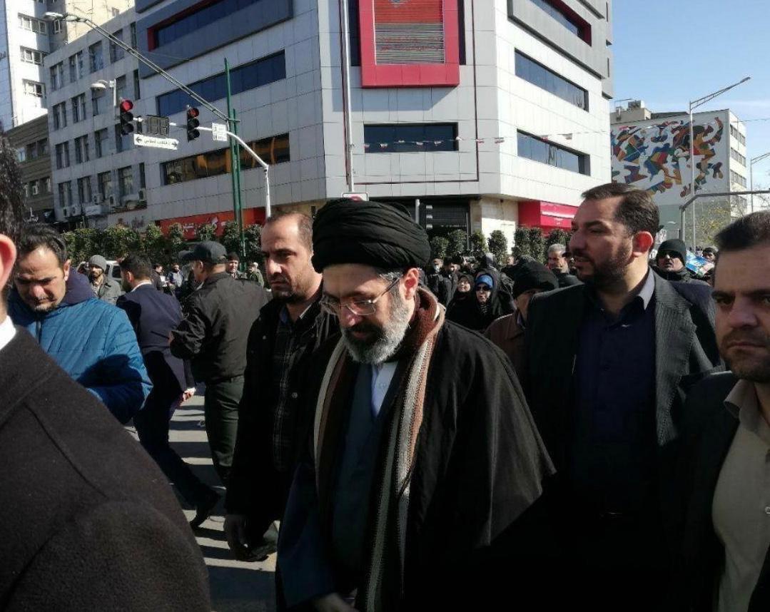 حضور چهرهها در راهپیمایی ۲۲ بهمن انقلاب اسلامی