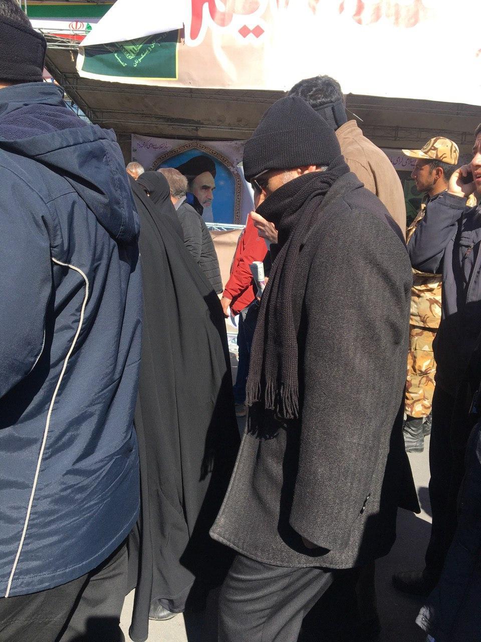 حاشیههای راهپیمایی ۲۲ بهمن ۹۸ در تهران