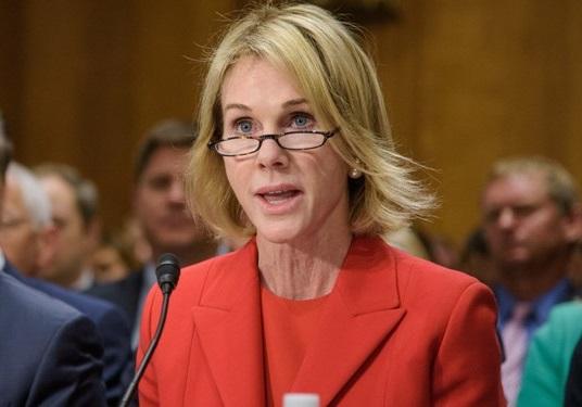 کلی کرفت، نماینده آمریکا در شورای امنیت