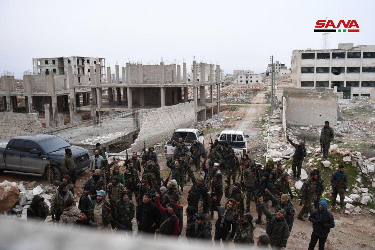 پیشروی ارتش سوریه در ریف جنوب غربی حلب