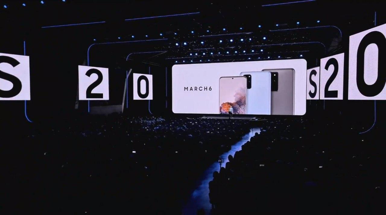 پوشش زنده مراسم رونمایی از محصولات ۲۰۲۰ سامسونگ