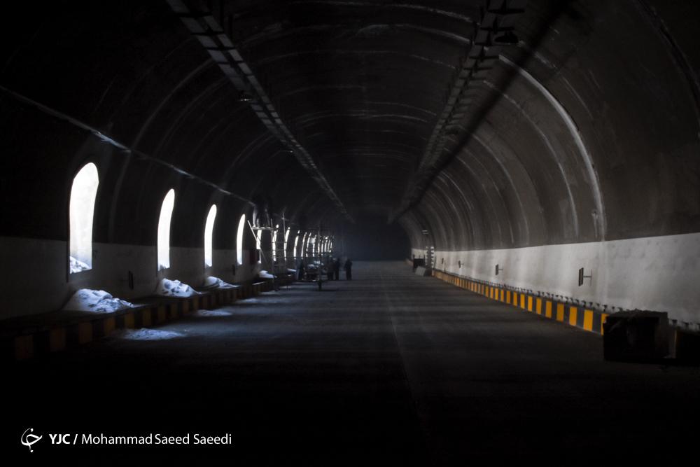بهرهبرداری آزمایشی قطعه یک آزادراه تهران- شمال