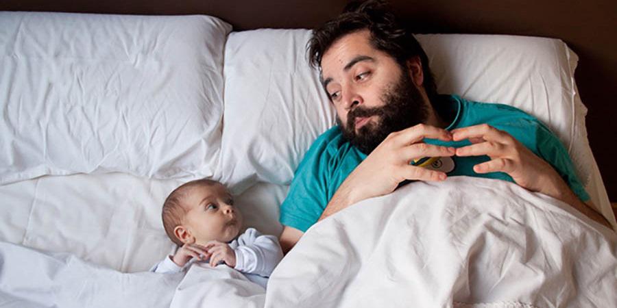 محققان میگویند مردها بعد از پدر شدن چاق میشوند