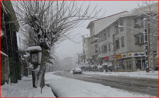 بارش برف در گیلان ۸۵ مصدوم بر جا گذاشت