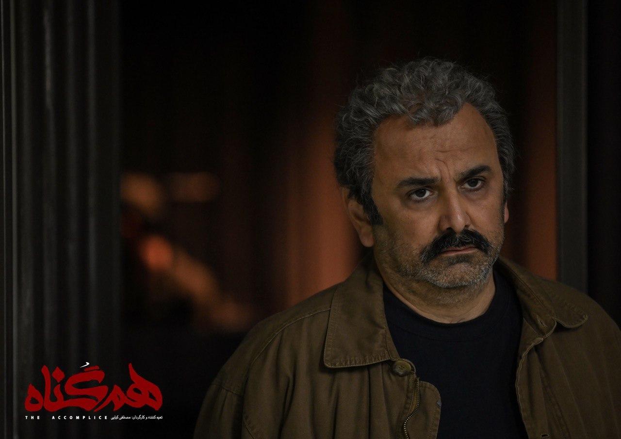رونمایی از گریم و اولین تصاویر حبیب رضایی در سریال هم گناه
