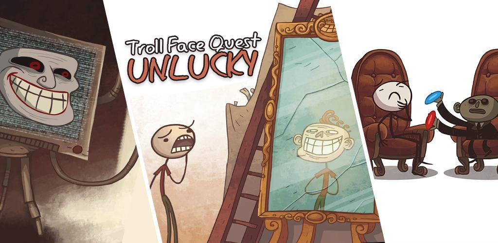 دانلود بازی Troll Face Quest: Unlucky 2.0.3 - بازی پازل