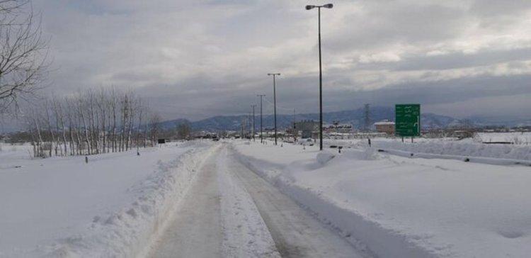 تونل سرما در دل استان گیلان