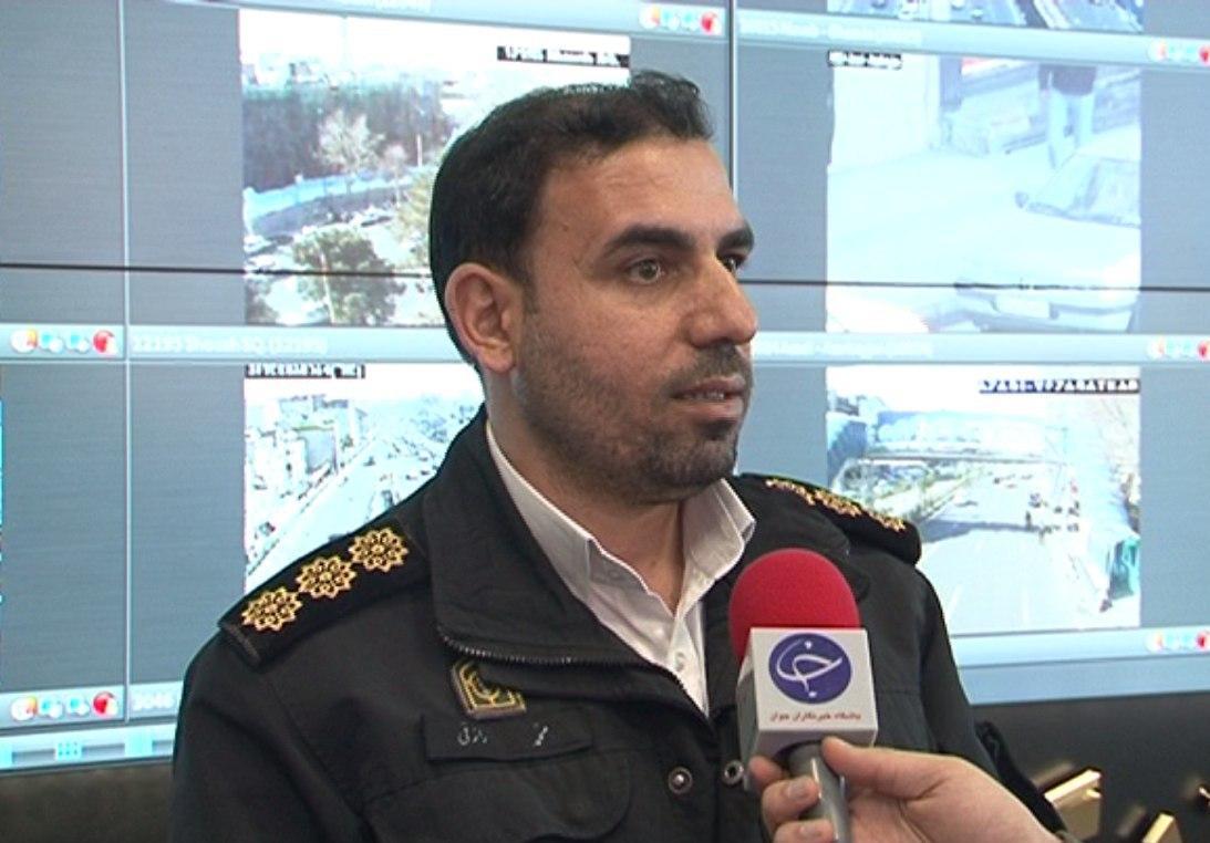 اقدامات انجام شده توسط پلیس راهور در راهپیمایی ۲۲ بهمن/ حدود ۱۰۰ خودرو در مسیر راهپیمایی منتقل شد