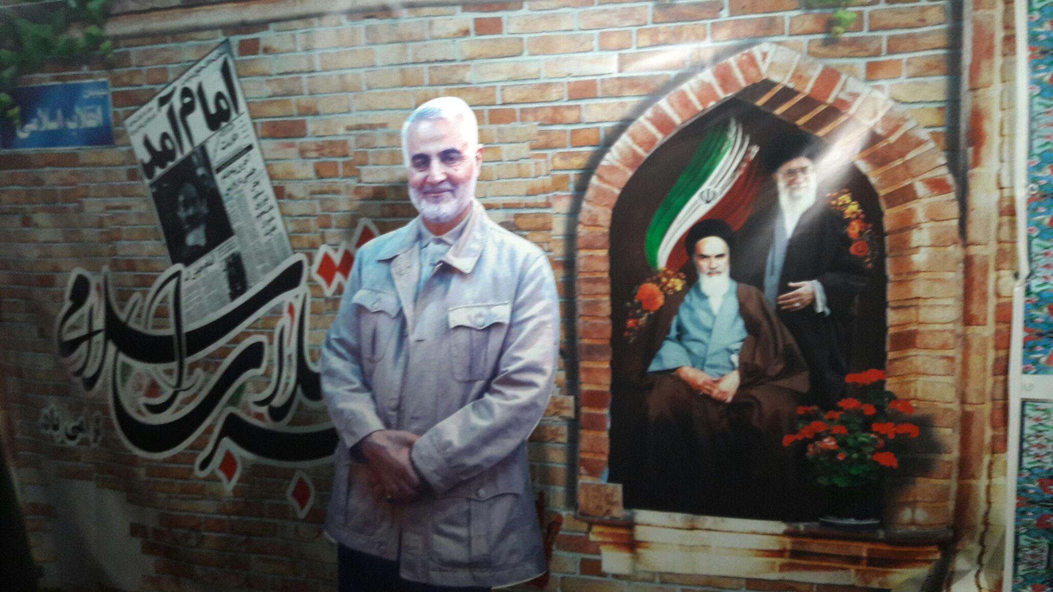 برپایی نمایشگاه سردار دلها در مسجد ولایت اهواز