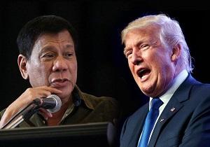 ترامپ: در صورتیکه فیلیپین توافق نظامی با آمریکا را لغو کند، اعتنایی نخواهم کرد
