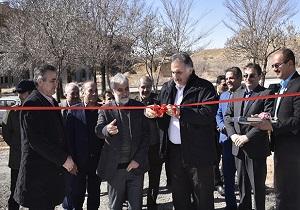 افتتاح زمین چمن مصنوعی دانشگاه شهرکرد