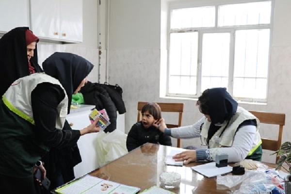 اعزام تیم پزشکی بیمارستان بعثت به مناطق محروم تویسرکان